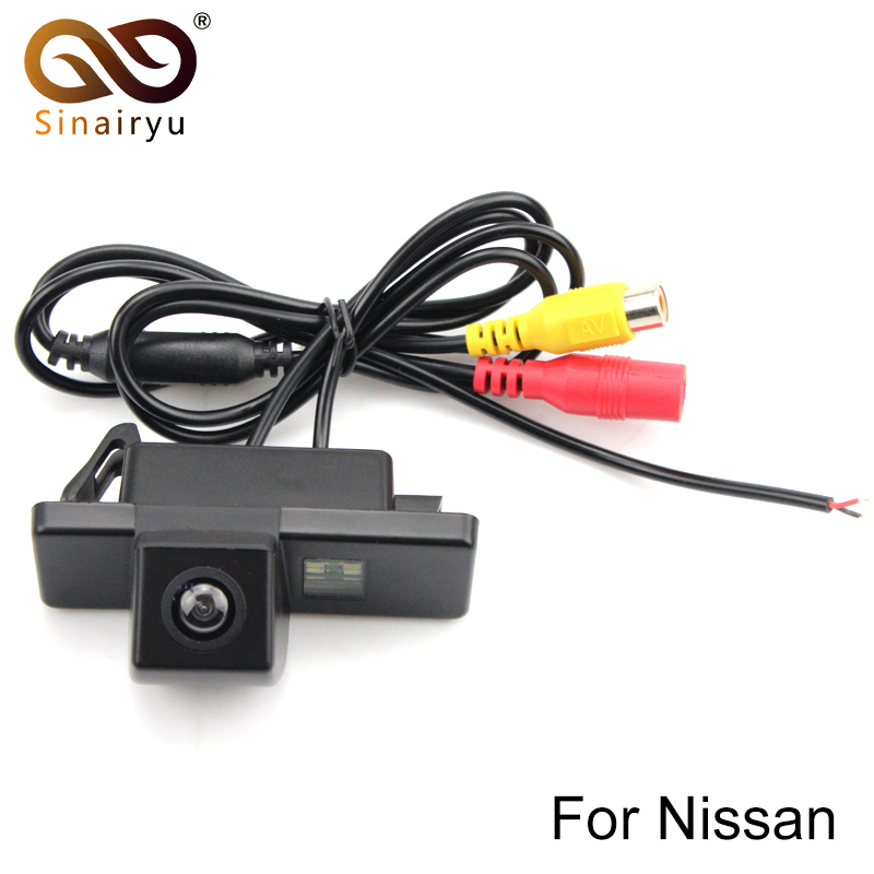 Sinairyu Car Rear View REVERSE CAMERA for Sony CCd NISSAN JUke QASHQAI/Geniss/Pathfinder/Dualis/Navara/note camera ...