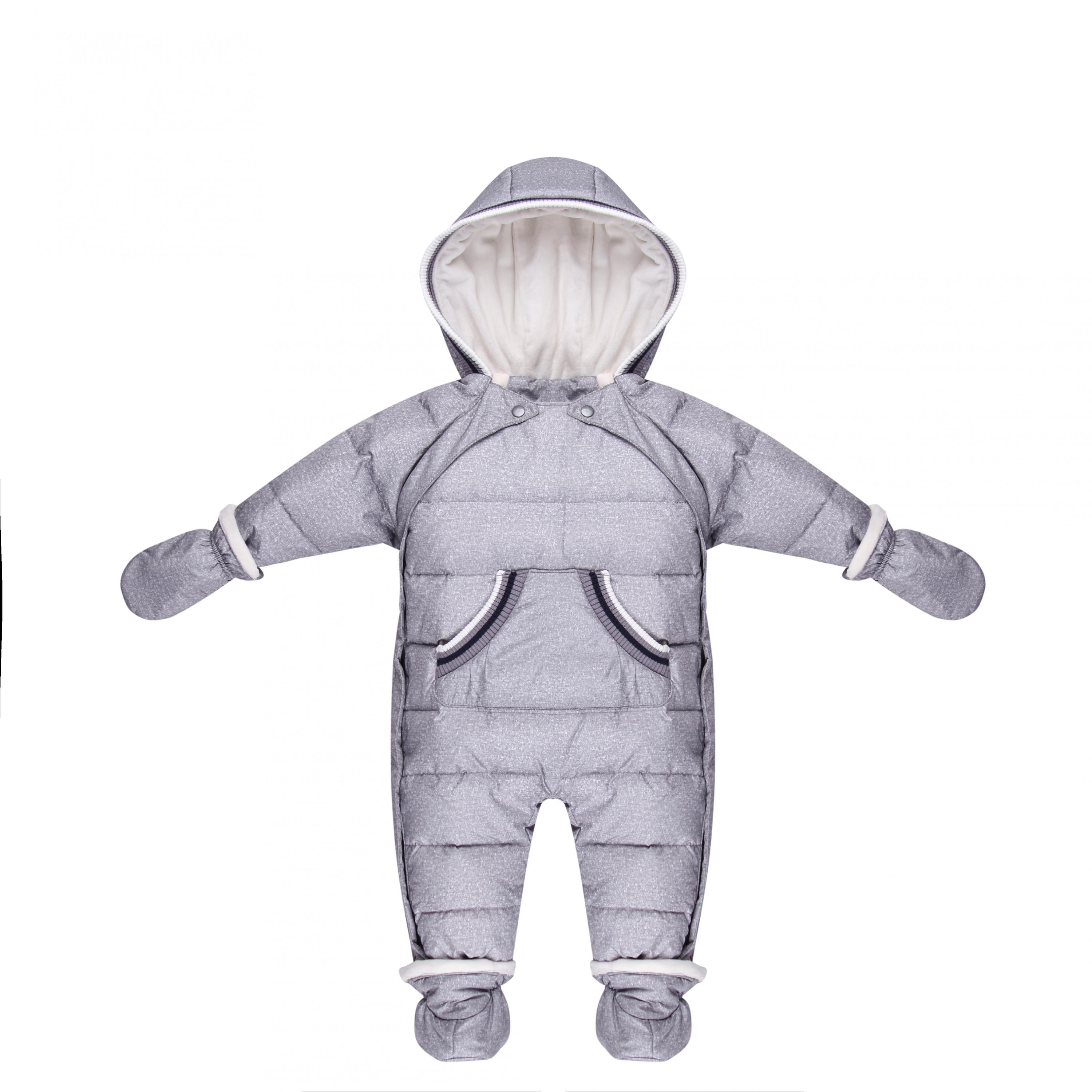 2018 new infant coats winter baby outwear & coats soft and thicken snowsuit baby overalls 3M-24M newborn fleece jacket jumpsuits