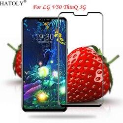На Алиэкспресс купить стекло для смартфона full glue glass for lg v50 thinq 5g tempered glass for lg v50 thinq 5g full coverage screen protector for lg v50 thinq 5g film