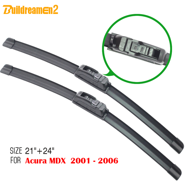 Buildreamen2 For Acura MDX 2001 2006 Soft Rubber