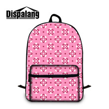 Dispalang Brand Laptop Backpack Pattern School Bags For Teen