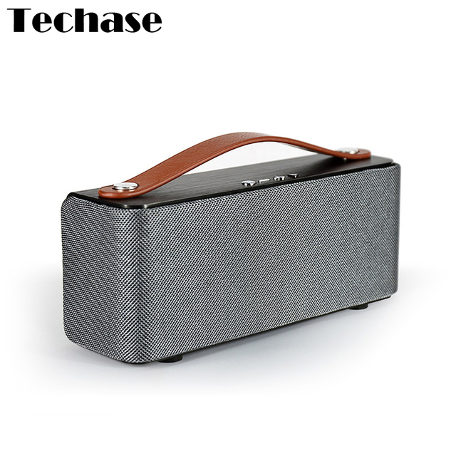 Techase Handbag Stereo Bluetooth Speaker MIC Function Stereo Super Bass Sound Quality Blutooth 4.0+EDR Portable Sport Speakers