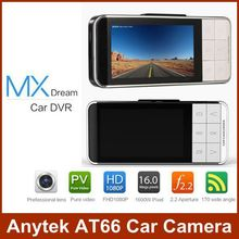 Original Anytek AT66 Car DVR Novatek 96650 WDR Video Recorder Full HD 1080P Camera G-sensor Registrator Mini Dashcam