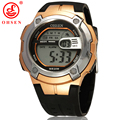 New OHSEN Mens Boys Digital Sports Watches Alarm Date Day Chronograph 7 Colors LED Back Light 3ATM Waterproof Rubber Wristwatch