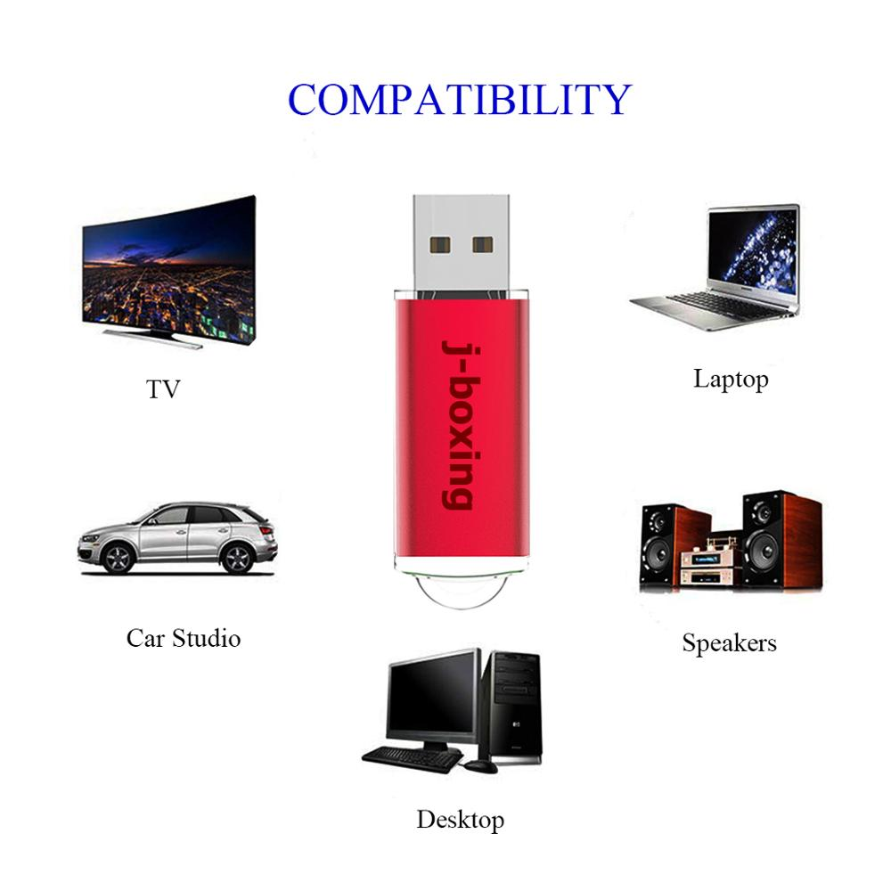 Image 5 - J boxing 512MB USB Flash Drives Pack 10PCS 64MB 128MB 256MB Small Cacapity Pendrives Zip Drives Bulk USB Data Storage Red-in USB Flash Drives from Computer & Office