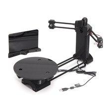 Black DIY 3D Laser Scanner Adapter Plate scanner kit  For Ciclop 3D Printer
