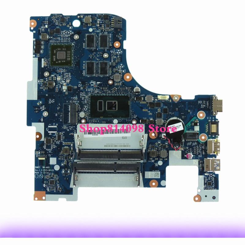 Laptop Motherboard fit for Lenovo IdeaPad 300 17ISK BMWD1 NM A491 SR2EZ i5 6200 DDR3 2GB 100% Tested