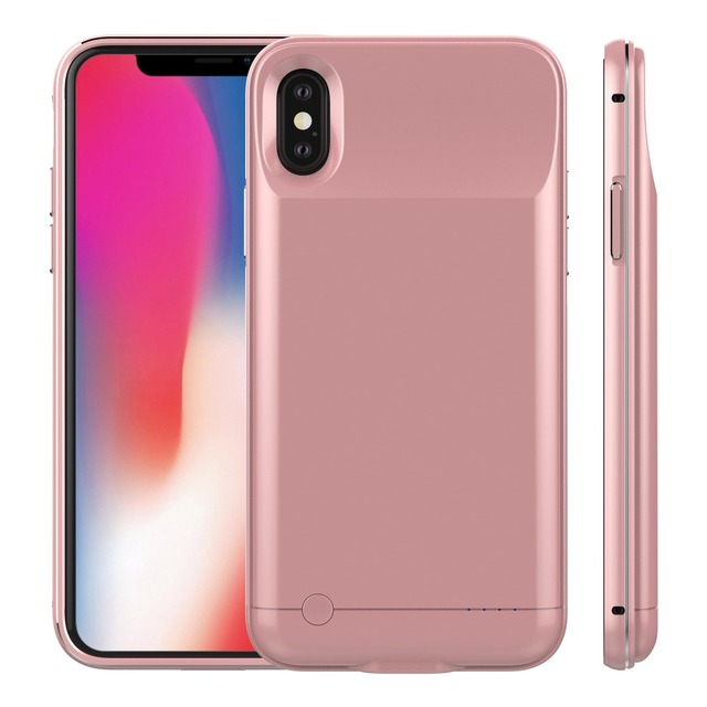 low priced 6c4a6 cb57f US $26.81 26% OFF|New Power Case 10000mah For iphone X Battery Case Backup  External Charge Phone Back Cover For iphoneX Battery Case -in Battery ...