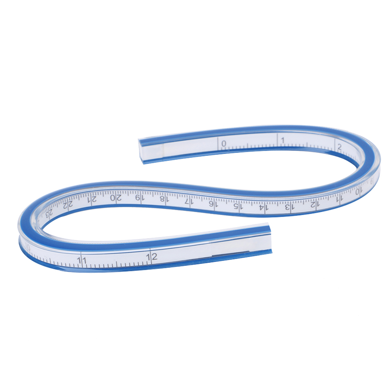 Flexible Curve Ruler Drafting Drawing Tool Plastic Vinyl 30cm 40cm 50cm 60cm #5