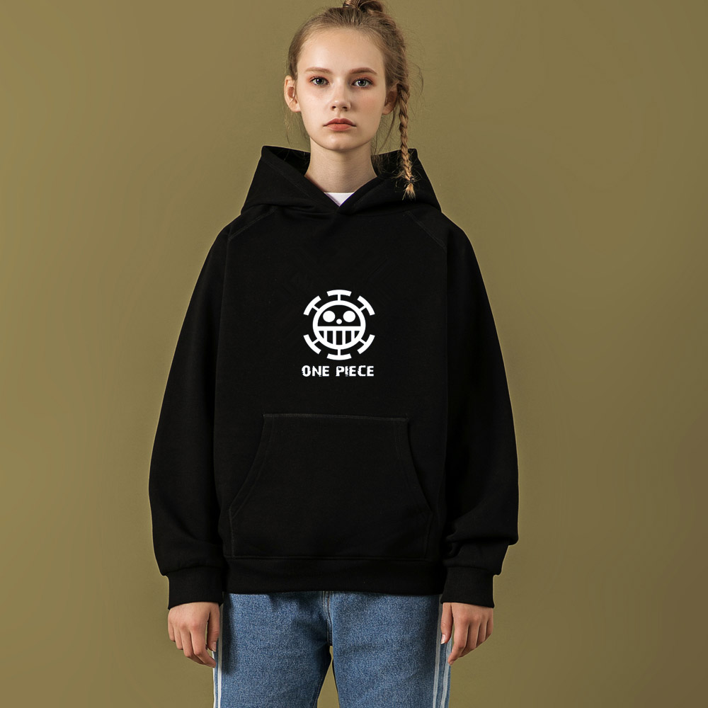 Kpop home Wanted Monkey D. Luffy Fashion harajuku style Couples Hoodie lovers clothes Man and Womens sweatshirt high quality