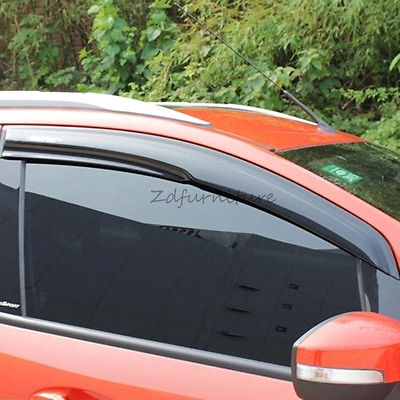 For Ford EcoSport 2013 2014 2015 Window Wind Deflector Visor Rain Sun Guards window visor rain sun deflector shade guards 4pcs for land rover discovery 4 lr4 2015 2014 2013 2012 2011 2010