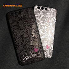 Lace Flower Pattern Soft Silicone Case Cover For Huawei P9 P10 Nova 3 3i 2i Mate 20 X 10 P20 Plus Honor 9 Lite Pro 10 V10 Play(China)