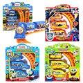 Elétrica Ferrov SpongeBob Snow white Spiderman Robô Carro de Trilho Thomas Trem Trilha Brinquedos Educativos Com Nice Package Crianças Presentes # E