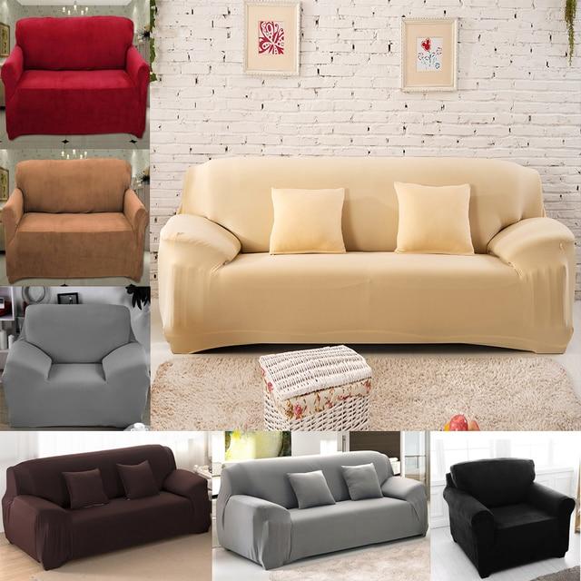 1/2/3/4 Seater Elastic Sofa Cover Sofa Slipcovers Cheap Cotton Sofa