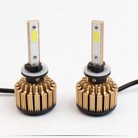 880 881 H1 H4 H3 H7 H11 HB3 HB4 HB5 COB LED Car Headight Bulbs Auto