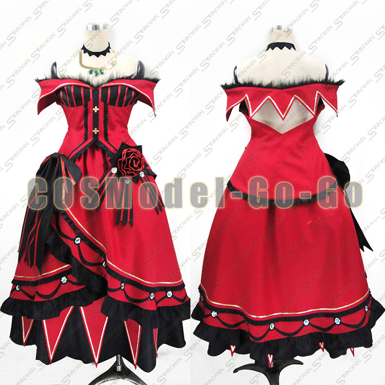 Japan Anime Re: Zero Kara Hajimeru Isekai Priscilla Barielle Cosplay Costume Halloween Uniform Party Dress Full Set Custom made