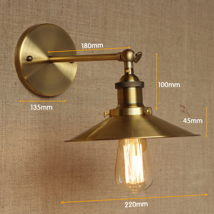 Edison Retro Vintage Λαμπτήρας Τοίχου LED - Εσωτερικός φωτισμός - Φωτογραφία 4