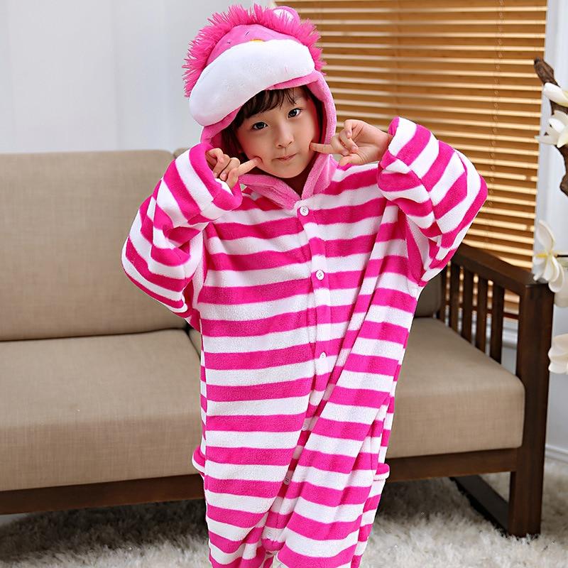 14b40d686 Winter Long Sleeves Cheshire Cat Kigurumi Onesie For Children Cosplay  Costume Boys Animal Kids one piece Pijama Home Sleepwear on Aliexpress.com  | Alibaba ...