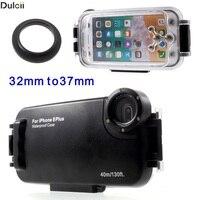 Dulcii Phone Cases For IPhone 8 Plus 5 5 MEIKON 40m 130ft IPX8 Waterproof Underwater Diving