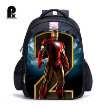 2018 Children Backpack The Avengers Schoolbag Iran Man for Captain American Boy Mochila Infantil