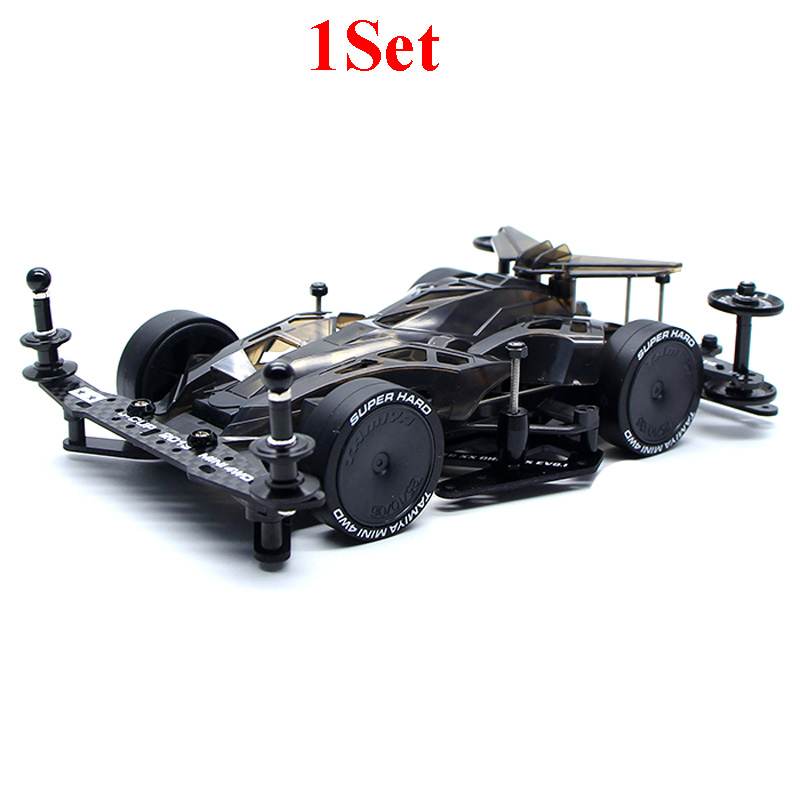 1Set 1 32 Scale Fully Cowled Mini 4WD SX Chassis MAX BREAKER 19611 CX09 for RC
