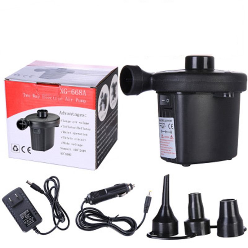 Car Household Inflatable Pump 110V~240V Car Electric Air Pump For Boat  Blower Auto Home Tool Electric Pump Car Inflator