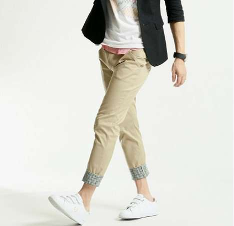 92abc42a2 2012 new fashion cool men summer cropped pants slim Plaid cargo pants men  casual trousers Black Khakis M XXL free shipping-in Pants from Men's  Clothing on ...