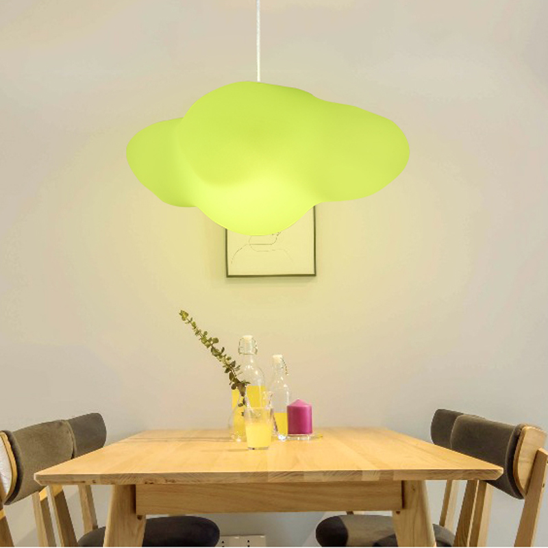 купить Nordic minimalist creative cloud Pendant Lights kinds children's room lamp restaurant clothing store led hanging lights онлайн