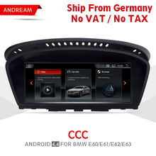 8 8 Android Screen Vehicle multimedia player For BMW Series 5 E60 E61 E62 gps navigation