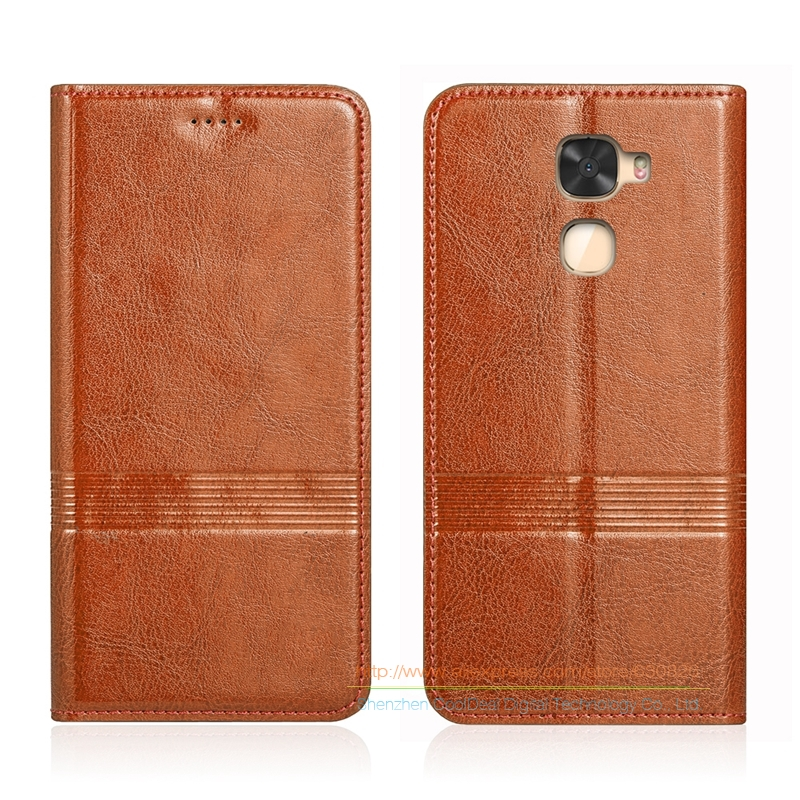 Vintage Genuine Leather Flip Stand Case For Letv <font><b>LeEco</b></font> Le <font><b>Cool</b></font> <font><b>Changer</b></font> <font><b>S1</b></font> 5.5&#8243; Cowhide Leather Cover &#038; Micro Invisible Magnet