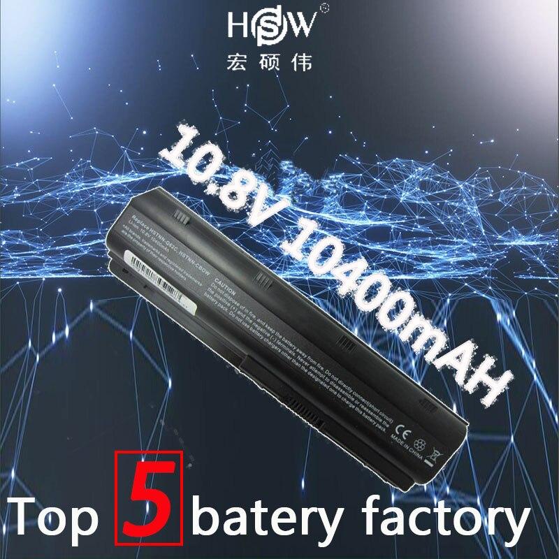 A HSW 10400 MAH células de bateria notebook laptop baterias PARA HP Compaq MU06 12 MU09 CQ42 CQ32 G62 G72 G42 593553 -001 DM4 batteria