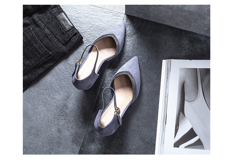 2018 new arrival good quality wedding shoes Women Shoes Pointed Toe Heels