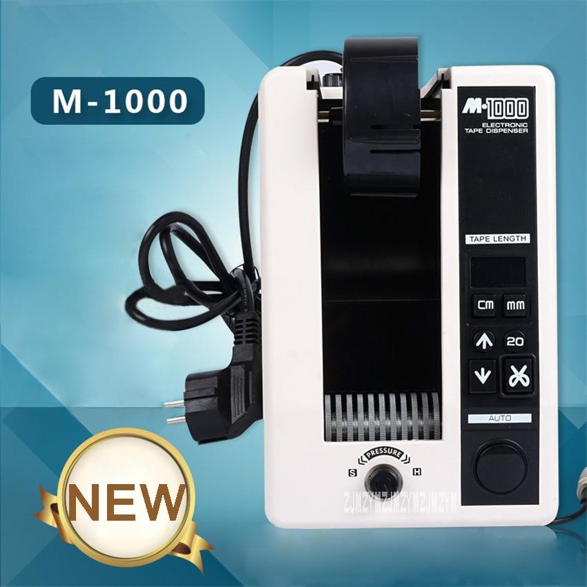 M 1000 Electric Tape Cutting Machine Adhesive Tape Dispenser Cutter Automatic Adhesive Tape Cutting Machine 110V/220V 20W 7 50MM|Power Tool Sets| |  -