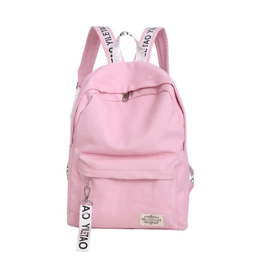 Canvas Backpack Travel Rucksacks For Girls School Bag For Teenager Mochilas Femininas Korean Style Backpack#121