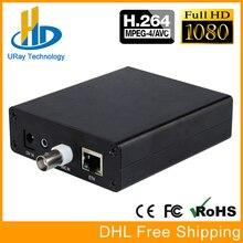 MPEG4 H.264 SD Encoder CVBS AV RCA Áudio E Vídeo Analógico Para O IP de Streaming de IPTV Codificador H264 Codificador CATV Transmissor de TV
