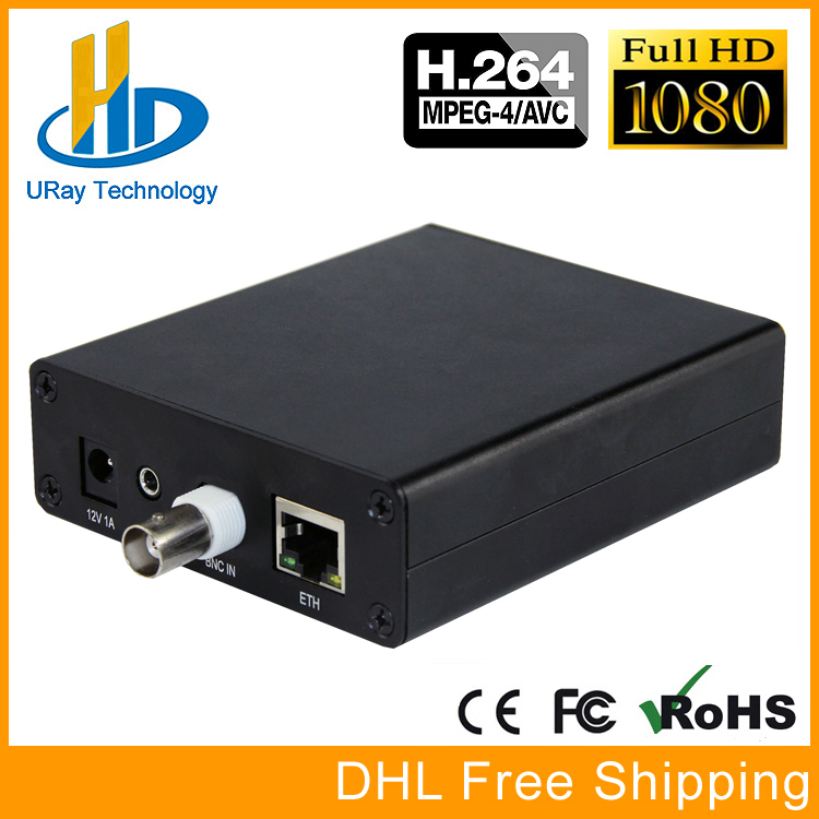 MPEG4 H.264 SD Analogique Vidéo Encodeur Audio CVBS AV RCA À IP Streaming Codeur IPTV CATV Encodeur H264 TV Émetteur