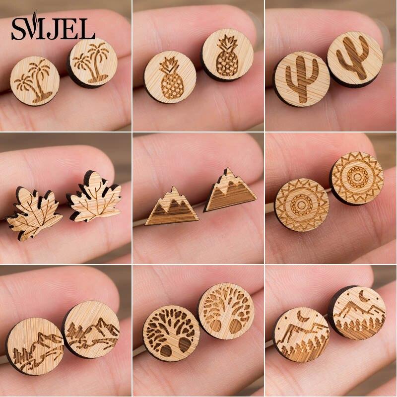 -wood earring 2