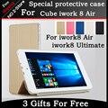 Оригинальный защитный чехол Для Cube iwork8 Воздуха/iwork8 Ultimate 8.0 дюймов tablet PC, флип Кожаный Чехол Чехол для cube iwork8 воздуха