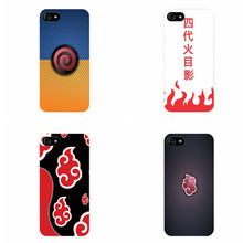 Naruto Akatsuki Clan Cloud Symbol Cover Case for iPhone and  Samsung