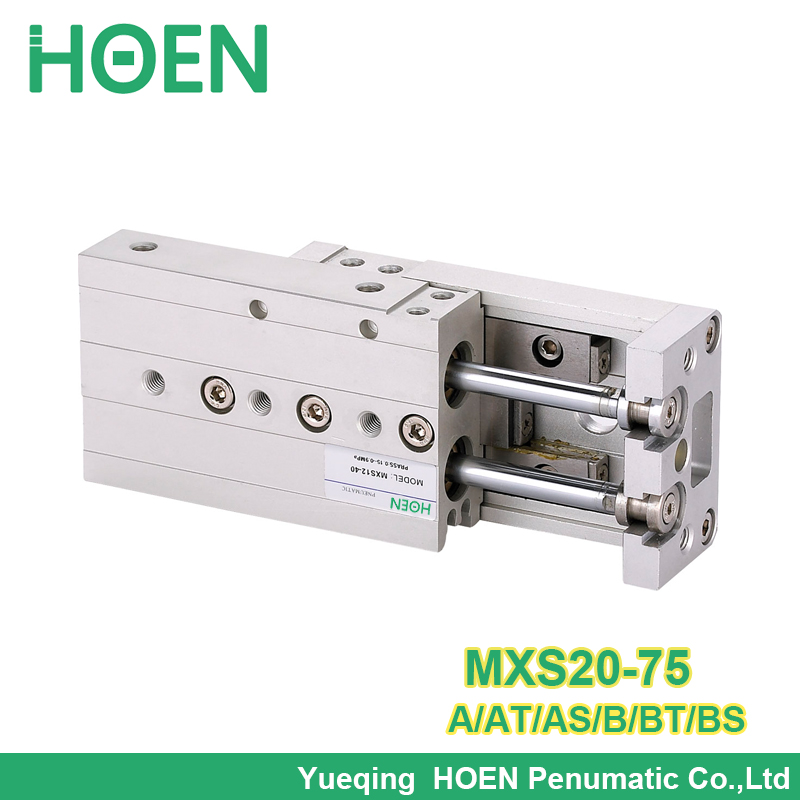 MXS20-75 MXS20-75AS MXS20-75A MXS20-75AT MXS20-75B MXS20-75BT MXS20-75BS Air Slide Table Double Acting Pneumatic Cylinder MXSMXS20-75 MXS20-75AS MXS20-75A MXS20-75AT MXS20-75B MXS20-75BT MXS20-75BS Air Slide Table Double Acting Pneumatic Cylinder MXS