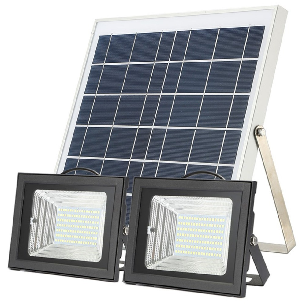 98/126 LED tipo Split PIR Sensor de movimiento de Control remoto 6 W 42 LED del Panel Solar de interior al aire libre LED hogar lámpara de luz de techo