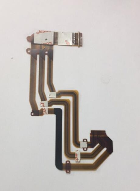 LCD Hinge Rotate Shaft Flex Cable For Sony FDR-AXP35 FDR-AXP55 FDR-AX30 FDR-AX33 AXP35 AXP55 AX30 AX33 Video Camera