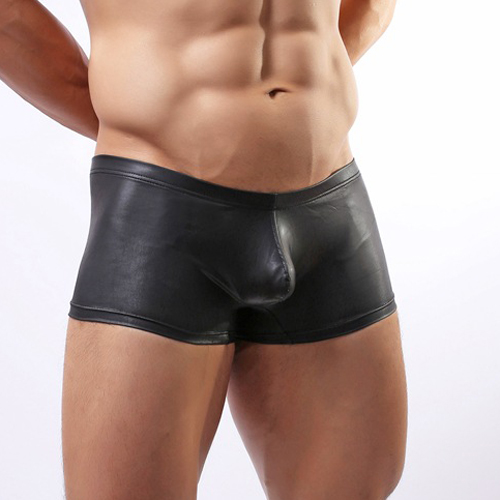 Lingerie Diva also has a selection of black leather thongs for men. Try one adorned with shiny snaps with a supportive front pouch. Or the bikini thong with a comfortable wide elastic waistband.
