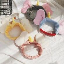 Женская резинка для волос с милым маленьким летающим слоном, эластичная повязка для волос, аксессуары для волос, удобная повязка для волос
