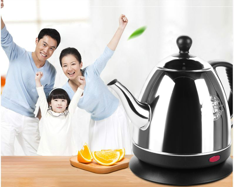 Electric kettle  automatic electric kettles all stainless steel without power Safety Auto-Off Function electric kettle is used for automatic power failure and boiler stainless steel kettles