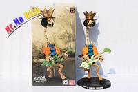 One Piece Japan Anime Action Figure Zero Brook Burukku Hand With Guitar Pvc 34cm Model Collection Pirate King Toy