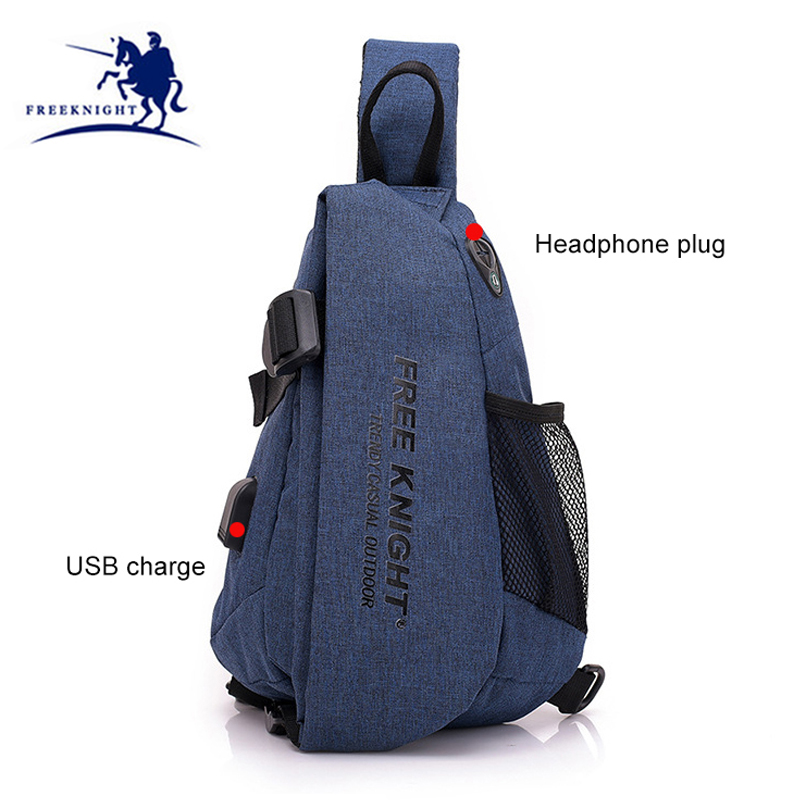 2018 New Outdoor Unisex Motorcycle Riding Chest Waist Packet Sports Running Bag With USB Charge Zipper Security Ruckrack XA692WD sa212 saddle bag motorcycle side bag helmet bag free shippingkorea japan e ems