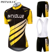 Phtxolue 2017 Cycling Set Women Breathable Bicycle Bike Wear Suit Maillot Ciclismo Team Clothing Jerseys Ropa