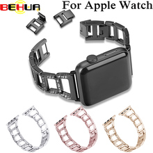 Alloy stainless steel watch strap for apple watch band 42mm 38mm LINK bracelet wirst strap iwatch 1/2/3 series metal chain цены