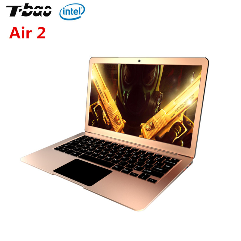 все цены на T-Bao Air 2 Notebook 13.3 Inch Windows 10 Intel Celeron N3450 Quad Core 1.1GHz 6GB DDR4 RAM 128GB EMMC HDMI - English Version